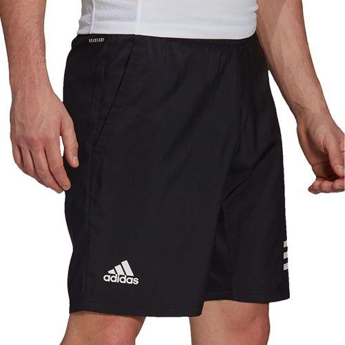 adidas Club 3 Stripe Short Mens Black/White GL5411