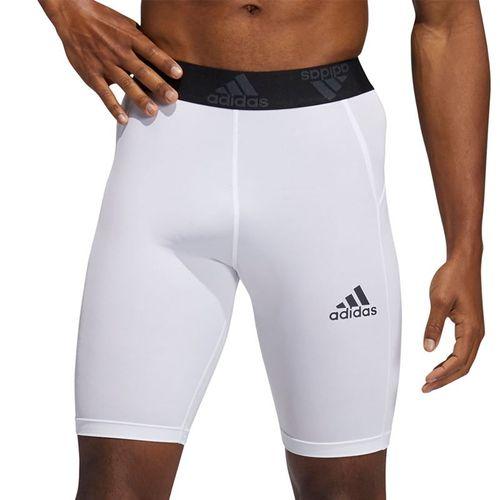 adidas Compression Short Mens White GL9883