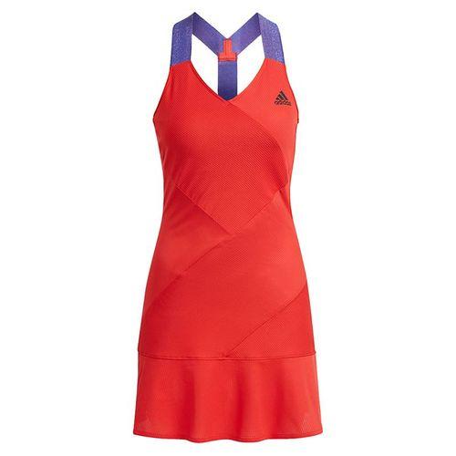 adidas Primeblue Dope Dye Y-Dress - Scarlet/Black