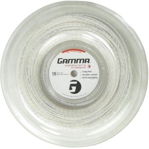 Gamma Wearguard Black 16G Tennis Reel