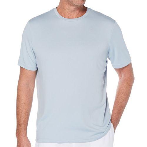 Grand Slam Stitch Effect Crew Shirt Mens Blue Fog GSKSA0H3 049