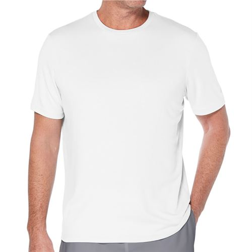 Grand Slam Solid Crew Shirt Mens Bright White GSKSA0H3 100