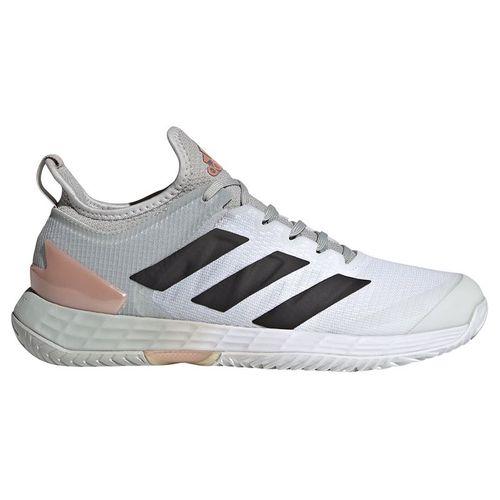 adidas Adizero Ubersonic 4 Womens Tennis Shoe Grey Two/Core Black/White GZ8466
