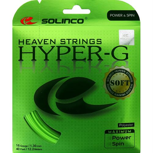 Solinco Hyper-G SOFT 16L (1.25) Tennis String