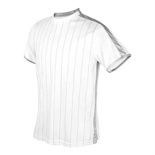 DUC Team Sublimated Crew Mens White/Silver M2003 WSV