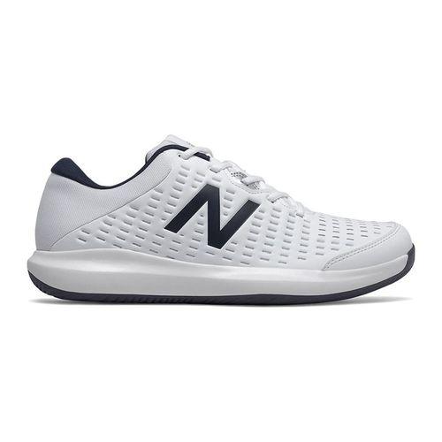 New Balance MCH696W4 Mens Tennis Shoe 2E Width White MCH696W4 2E