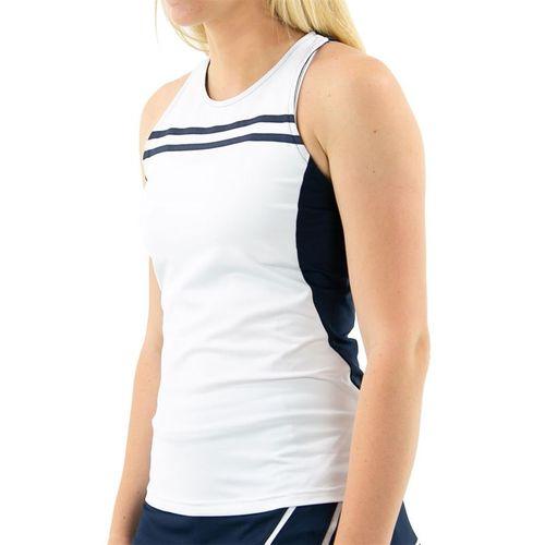 Inphorm Retro Classic Harper Tank Womens White/Midnight Combo S21030 0214û