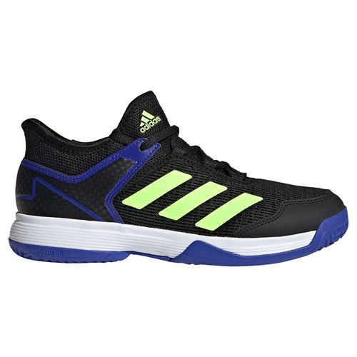 adidas Ubersonic 4 Junior Tennis Shoe Core Black/Signal Green/Sonic Ink S23743