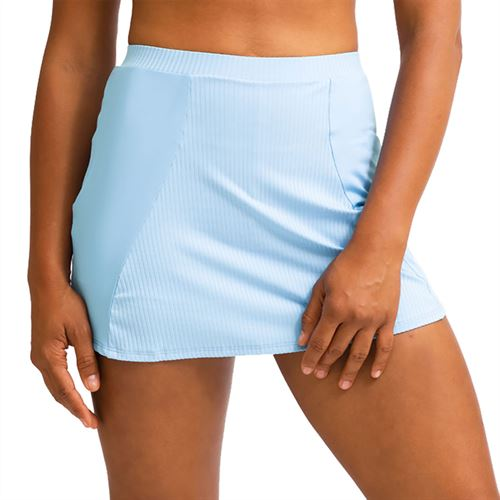 Eleven In The Curves High Swing 13 inch Skirt Womens Cloud Blue SK139 413