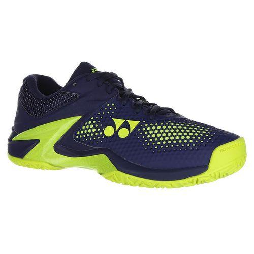 Yonex Power Cushion Eclipsion 2 Mens Tennis Shoe - Navy/Yellow