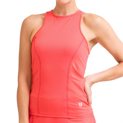 Eleven In The Curves High Swing Tank Womens Coral TA138 830