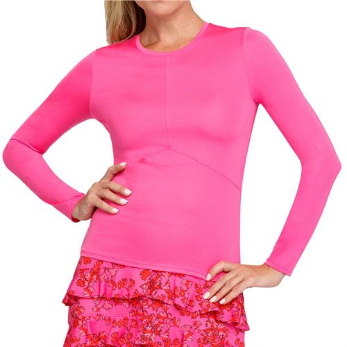 Tail Coral Bay Dorian Long Sleeve Top Womens Spiced Coral TD2751 0129