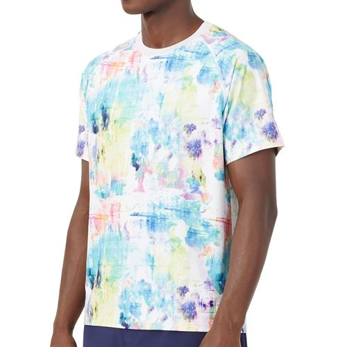 Fila Tie Breaker Printed Crew Shirt Mens Tie Dye/White TM118296 538