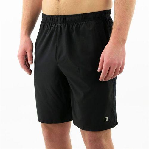 Fila Fundamental Double Layer Short Mens Black TM161NZ2 001