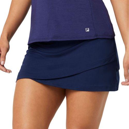 Fila Essentials Tiered Skirt Womens Peacoat TW016439 412