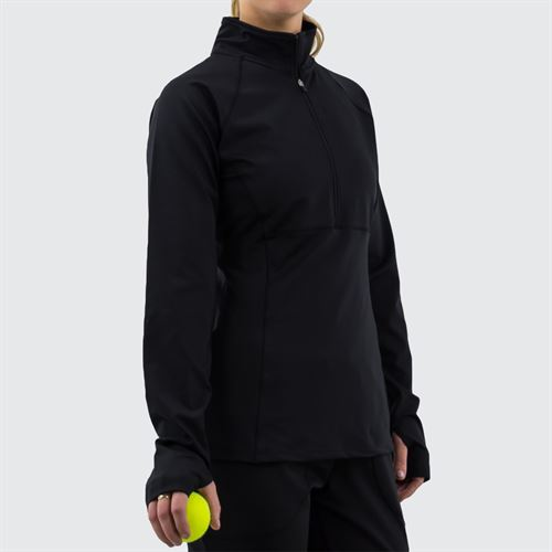 Fila 1/2 Zip Jacket Womens Black TW016465 001