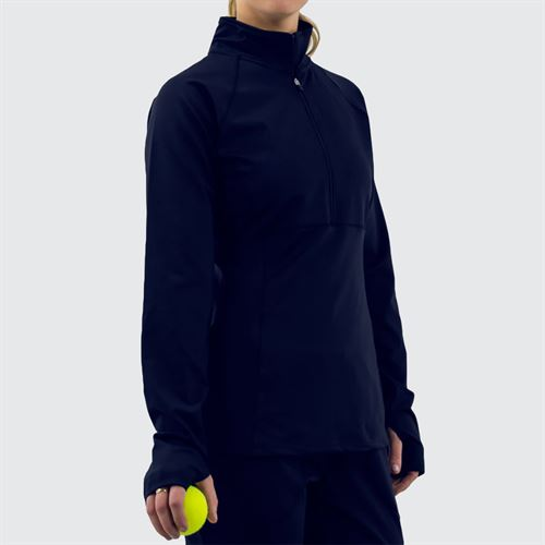Fila 1/2 Zip Jacket Womens Navy TW016465 412