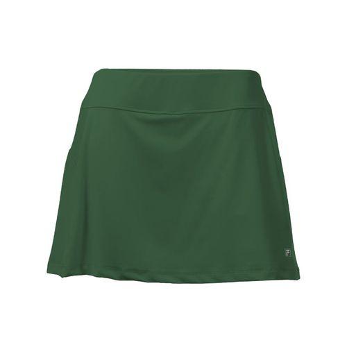 Fila Core A Line Skirt - Forest Green
