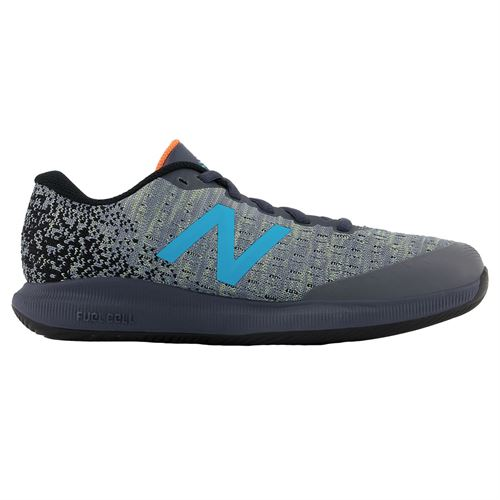 New Balance 996v4 (D) Womens Tennis Shoe - White/Grey/Blue