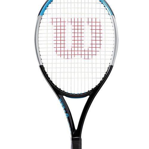 Wilson Ultra 100 V3 Tennis Racquet Black/Silver WR033611U