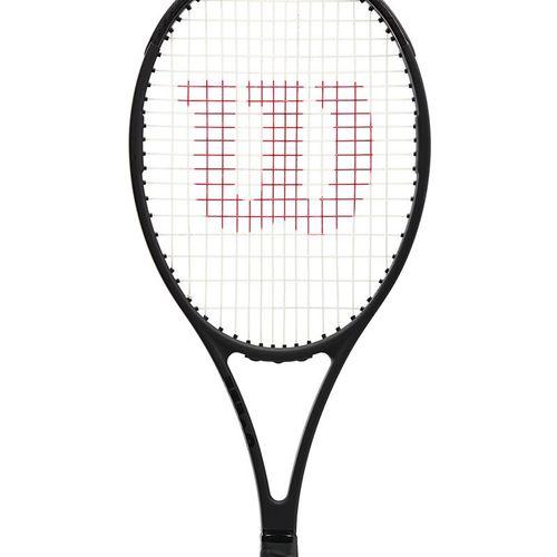 Wilson Pro Staff 97 V13.0 Tennis Racquet Black/White WR043811U