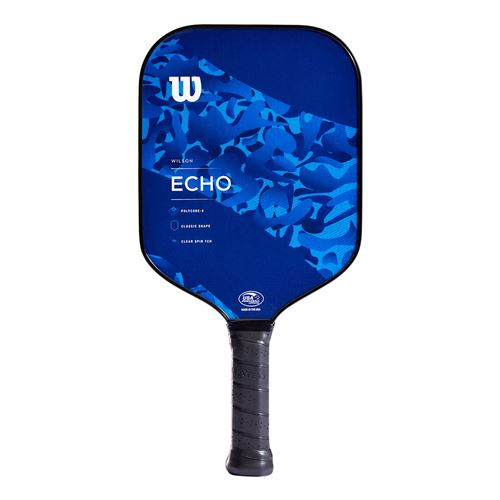 Wilson Echo Camo Pickleball Paddle - Blue