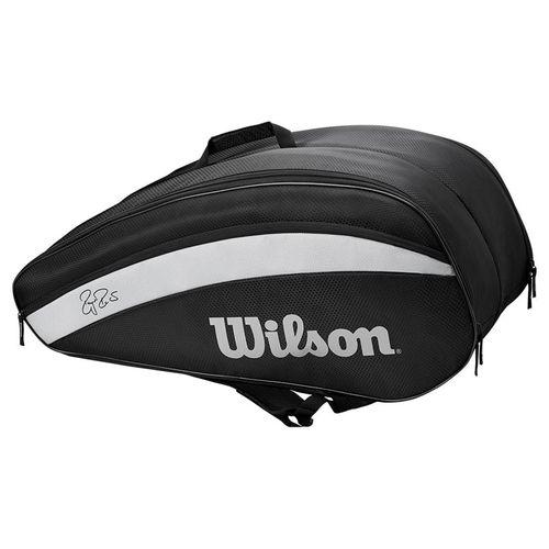 Wilson RF Team 12 Pack Tennis Bag - Black