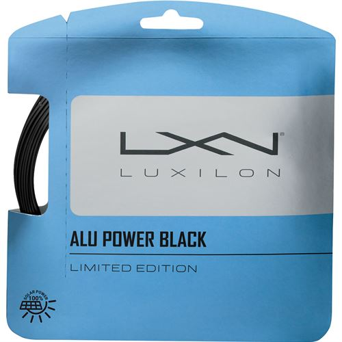 Luxilon ALU Power 125 Black Tennis String