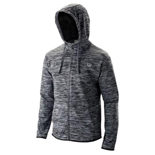 Wilson Training Hooded Jacket Mens Black WRA774301
