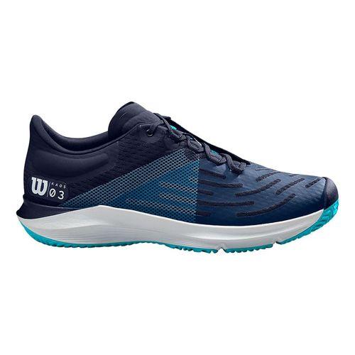 Wilson Kaos 3.0 Mens Tennis Shoe Peacoat/White/Scuba Blue WRS325920