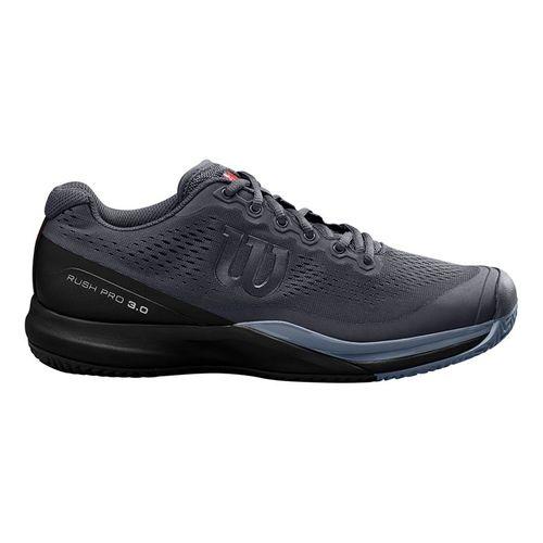 Wilson Rush Pro 3.0 Mens Tennis Shoe Ebony/Black/Infrared WRS325990