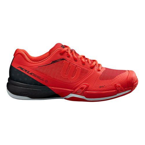 Wilson Rush Pro 2.5 Mens Pickleball Shoe Infrared/Black/Pearl Blue WRS326700