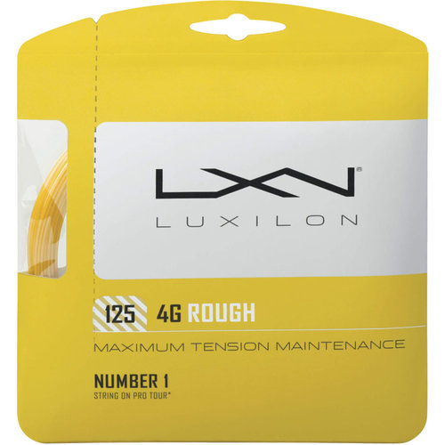 Luxilon 4G Rough 125 Tennis String