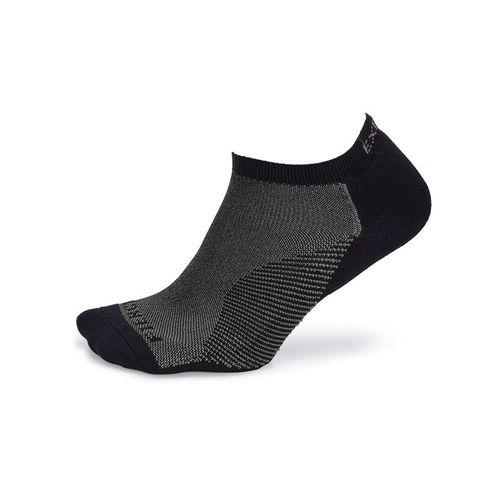 Thorlo Experia Fierce No Show Socks - Black/Grey