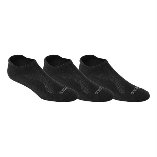 Asics Cushion Low Cut Socks (3 Pack) - Black