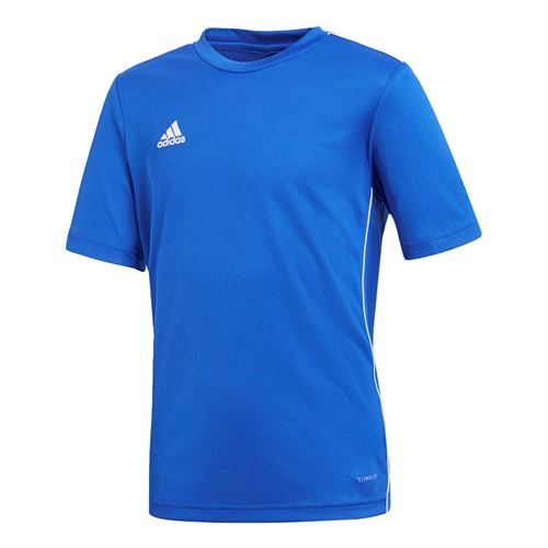 adidas Junior Training Crew - Bold Blue/White
