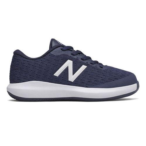 New Balance 996v4 Junior Tennis Shoe - Navy/White