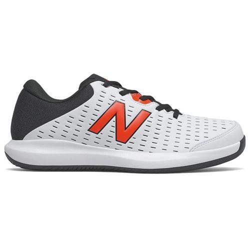 New Balance 696v4 (4E) Mens Tennis Shoe - White/Black/Red