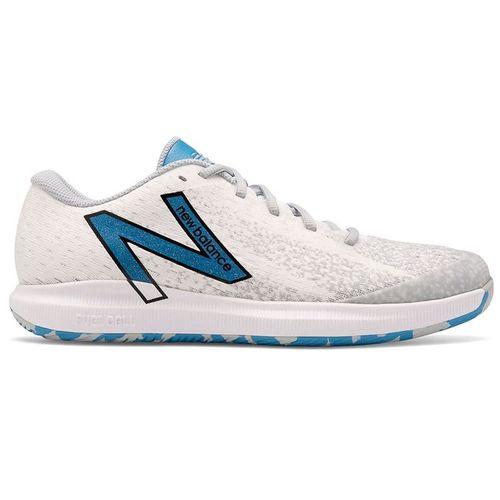 New Balance 996v4.5 (2E) Mens Tennis Shoe - White/Helium Blue