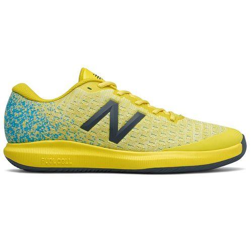 New Balance 996v4 (D) Mens Tennis Shoe - Yellow/Blue