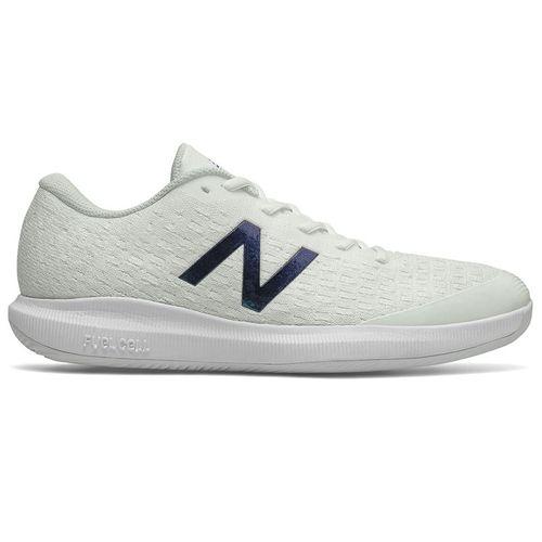 New Balance 996v4 (2E) Mens Tennis Shoe - White/Blue