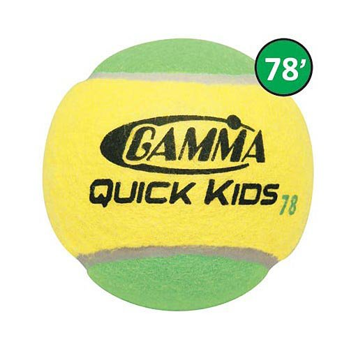Gamma Quick Kids 78 Tennis Balls 3 Pack