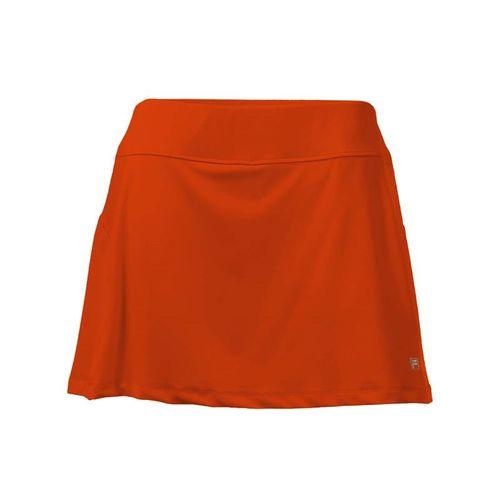 Fila Core A Line Skirt - Team Orange