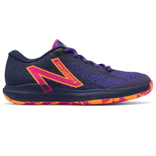 New Balance 996v4.5 (B) Womens Tennis Shoe - Black/Deep Violet