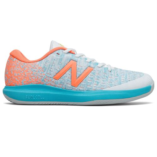 New Balance 996v4 (D) Womens Tennis Shoe - Orange/Blue