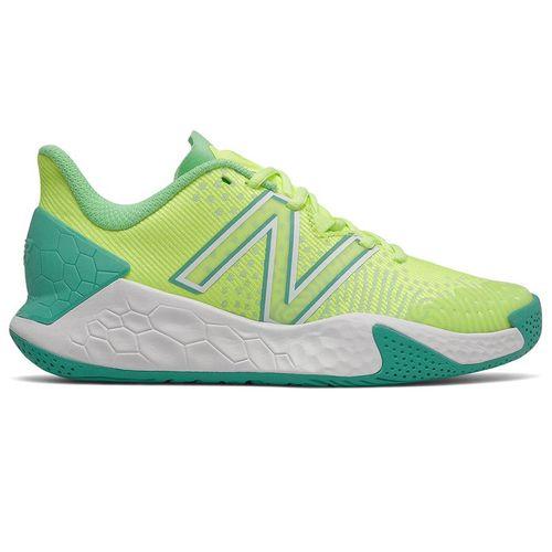 New Balance Fresh Foam X LAV V2 (B) Womens Tennis Shoe - Lime Green