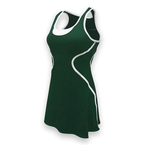 SSI Sophia Tennis Dress - Pine/White